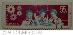Imaginea #1 a 55 Bani 1968 - Pionieri