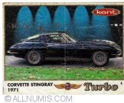 4 - Corvette Stingray 1971
