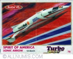 79 - Spirit of America Sonic Arrow