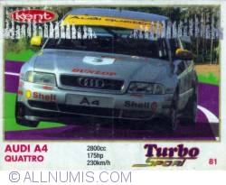 81 - Audi A4 Quattro