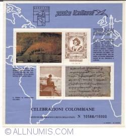 Image #1 of Celebrazioni Colombiane (souvenir sheets)