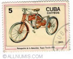 5 Centeros -  1910 Kaiser Tricycle