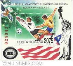 2075L 1994 - Turneul Final al C.M. de Fotbal S.U.A. - colita dantelata