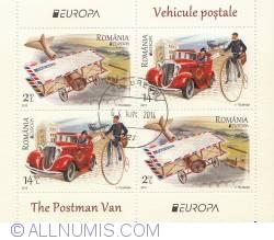 14.50 L si 2.10L - Bloc Europa - Vehicule Postale