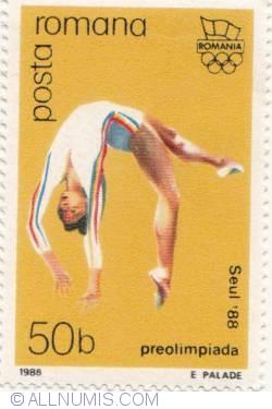 50 bani - Seul '88 - Preolimpiada