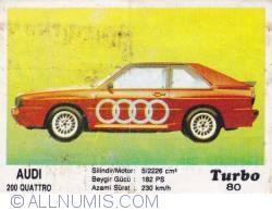Image #1 of 80 - Audi 200 Quattro