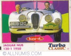 72 - Jaguar NUB 120-1 1950