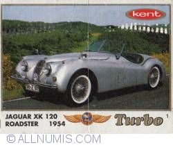 1 - Jaguar XK 120 ROADSTER 1954
