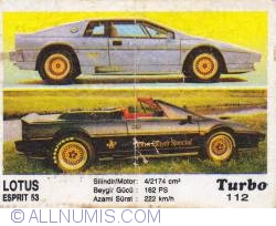 Image #1 of 112 - Lotus Esprit Turbo