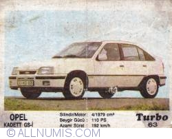 Image #1 of 63 - Opel Kadett GS-i