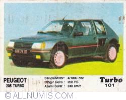 Image #1 of 101 - Peugeot 205 Turbo