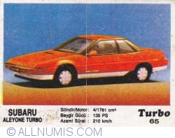 Image #1 of 65 - Subaru Aleyone Turbo