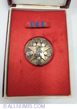 Orden zasluge za narod sa srebrnom zvezdom