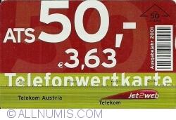 Image #1 of Telefonwertkarte - 3,63 Euro