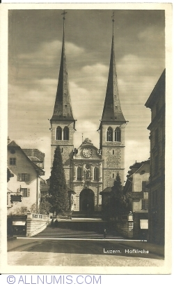 Image #1 of Lucerne - Church of St. Leodegar (Hofkirche St. Leodegar) (1925)