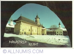 "Image #1 of Neamț Monastery - The Church of ""Ascension"" and the Church ""St. George"" (1997)"