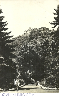 Image #1 of Deva - view from the park to the fortress (1962)