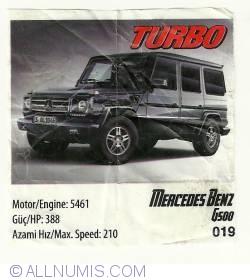 Image #1 of 019 - Mercdes Benz G500