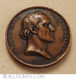 Medal Andreas Liber Baro De Stifft Medic Doctor
