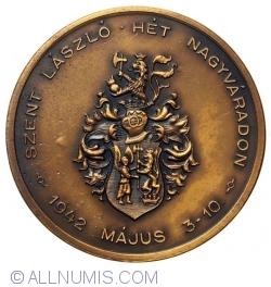 """Musti Viktor - """"Szent László Hét Nagyváradon - 1942"""