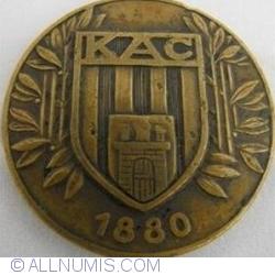 MEDALIE FOTBAL Kolozsvari Athletikai Club 1880