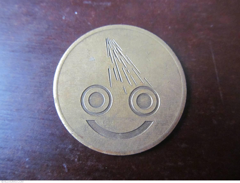 jeton smiley, Car wash - France - Token - 23815