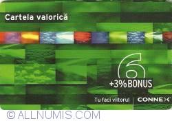 Image #1 of Cartelă valorică - 6+3% Bonus