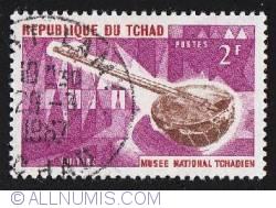 Image #1 of 2 Francs 1965 - Republica Ciad - Chitara