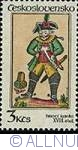 Image #1 of 3 Korun 1984 - Knight XVIII - Playing Cards from the Middle Ages