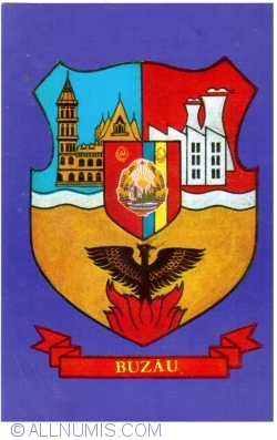 Image #1 of Buzau - City coat of arms (1973)