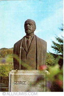 Image #1 of Coşbuc commune - Bust of George Cosbuc by C. Medrea