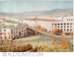Ulan Bator - Ulaanbaatar (Улаанбаатар) -  The University Street (1965)