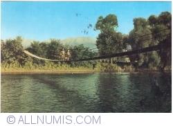 Image #1 of Avrig - Suspension bridge over Olt