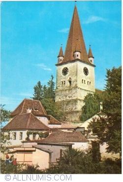 Image #1 of Cisnădie - Evangelical Church (1970)