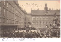 Imaginea #1 a Viena - K. k. Hofburg. Franzenplatz mit Burgmusik
