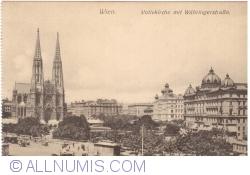 Imaginea #1 a Viena - Biserica Votivă (Votivkirche) și Währingerstraße