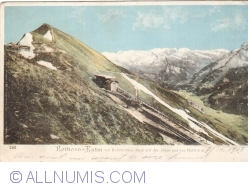 Image #1 of Hotel Rothorn-Kulm and railway station Blick (1903)