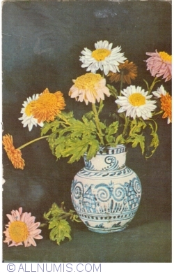 Image #1 of Chrysanthemums and daisies