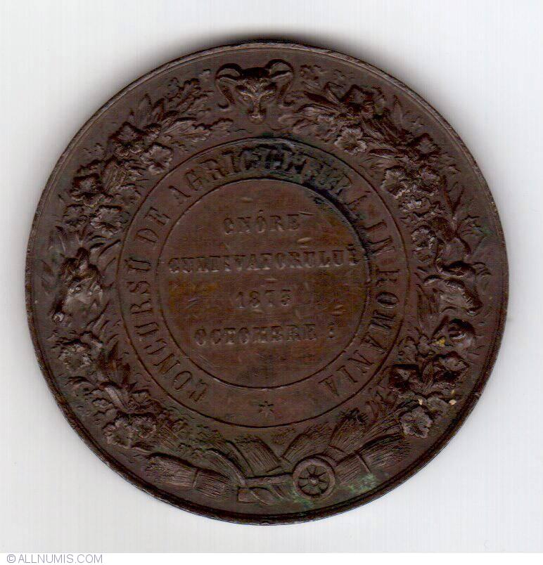 Romanian agriculture consul 1875 souvenir romania for Consul catalog