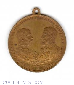 Image #1 of 1896 - FRANZ JOSEF LA BUCURESTI SI SINAIA
