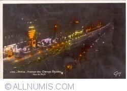 Imaginea #1 a Paris - Bulevardul Champs-Elysées noaptea