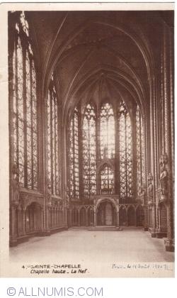 Imaginea #1 a Paris - Sfânta Capelă. Naosul (La Sainte-Chapelle. Le Nef) (1931)