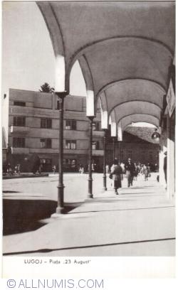 "Imaginea #1 a Lugoj - Piața ""23 August"" (1961)"