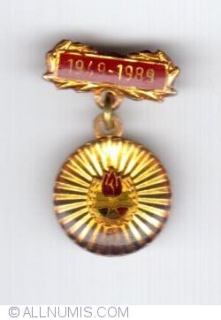 Image #1 of MEDALIA ANIVERSARA 1949-1989 001