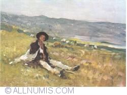 Image #1 of Nicolae Grigorescu - Boy shepherd