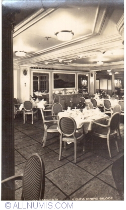 M. V. Rangitata - 1st class dining saloon