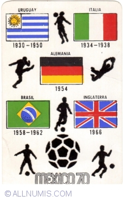 Image #1 of 1970 FIFA World Cup