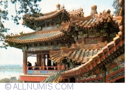Beijing - Summer Palace (颐和园) - The Arbor of stroling in scenery