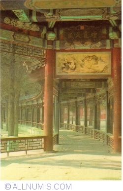 Beijing - Summer Palace (颐和园) - The Long corridor