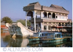 Beijing - Summer Palace (颐和园) - Marble boat
